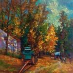 Fort Edmonton Park Oil Painting – Part I