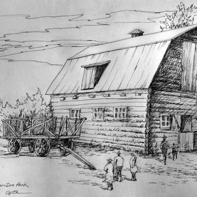 Fort Edmonton Park Cabin
